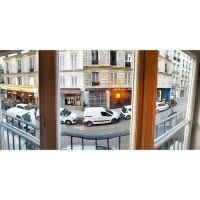 Warbly panoramic from my hotel window by sequential