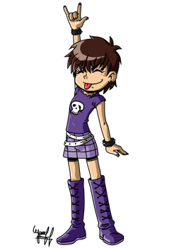 LUNA LOUD(ANIME)-Render by josephliendro10