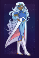Allura is such a queen can she step on me by Nomi-starry