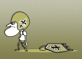 Sad day for the Saints by cgianelloni