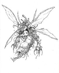 Infested contest submission - INFESTED WATCHER by thunderalchemist18