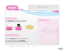 Inque Website by jeayese