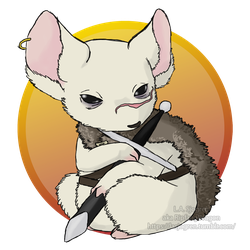 Mouse Guard RPG: Dagna by RipfangDragon