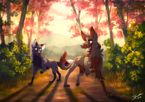 A Long Way From Home - Commission by Skailla