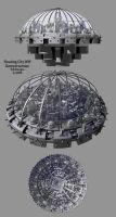 Floating City - Domed version by TLBKlaus
