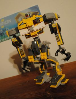 LEGO Hyperion Loader - Front by Epic-Leather