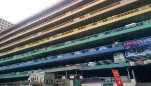 Colorful Parking Building - Thailand by casper033