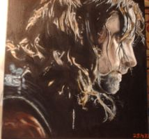 Oilpainting Aragorn for Mother's Day by Valyanna8361