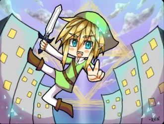 Chibi Link by Xentrias
