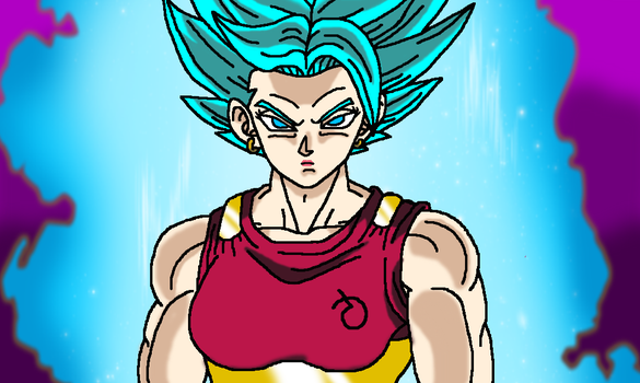 Kale SSJB (Version 2) by JordanMcFighter
