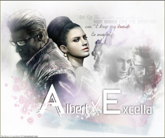 Wesker X Excella by MaryLander97