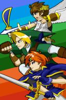 Super Smash Bros iTouch Wallpaper by lazy-face