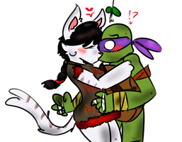 Christmas Gift With A Kiss! by FoxxyAlpaca