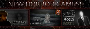 TopicStorm Banner-New Horror Games! by Buizleflare