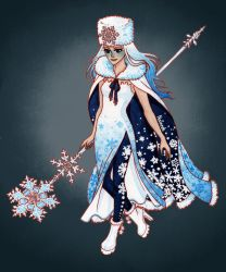 Ice Queen - Character Design by Naineuh
