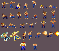 Even more Rumble McSkirmish sprites by DOA687