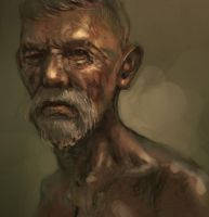 An Old Man by maxbat