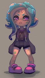 octoling OC by Toesies