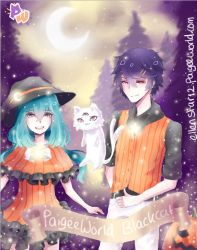 Entry for the Halloween contest at paigeeworld by Roseru-chan