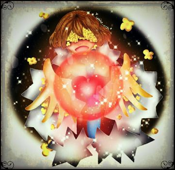 Flowerfell Frisk by ColdheArts17