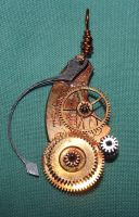 Steampunk Necklace by Aethergoggles