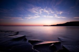 Kimmeridge Sunset by Mohain