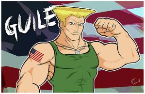 Guile by Thebit07