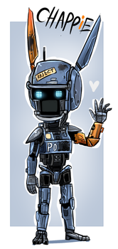 CHAPPiE by Skeleion