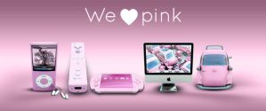 Archigraphs Pink Dock Icons by Cyberella74