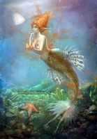 Mermaid Discoveries by ZombieSandwich
