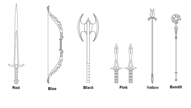 New Weapons Designs WIP by Soluna17