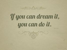 You Can Do It by Textuts