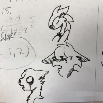 Math Doodles by delcattylover469