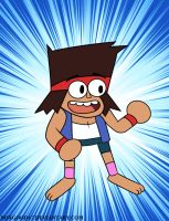 ok ko let's be heroes: love all back help by boxgood67