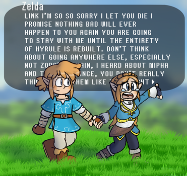 Breath of the Wild: Alternate Ending by WhicheverComa