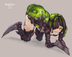 baneling by BlizzOmos