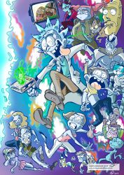 Rick and Morty by mariods