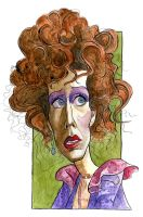 Carol Burnett as Miss Hannigan in Annie by Caricature80