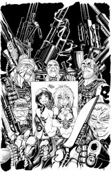 Dirty Pair cover by TimTownsend