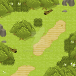 Forest Tileset by Sylphiren