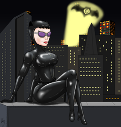 Catwoman by darkartistrising