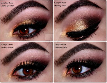 Everyday Gold Look  -  YOUTUBE TUTORIAL :D