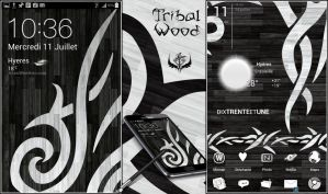 Tribal Wood by Koori-jmc