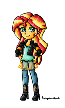 Sunset Shimmer by ninpeachlover