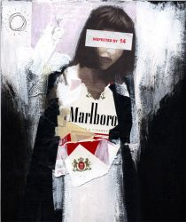 Marlboro girl by jonesray