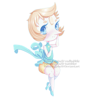 Pearl chibi by paintingpixel