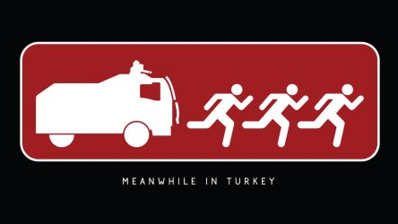 Meanwhile in Turkey by 96design