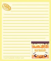 marmalade stationary by Ritzylicious