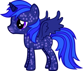 Foal Starlight Vector by hombre0