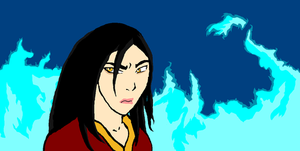 Azula mspaint by Caranth